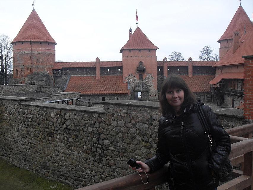Внутри Тракайского замка