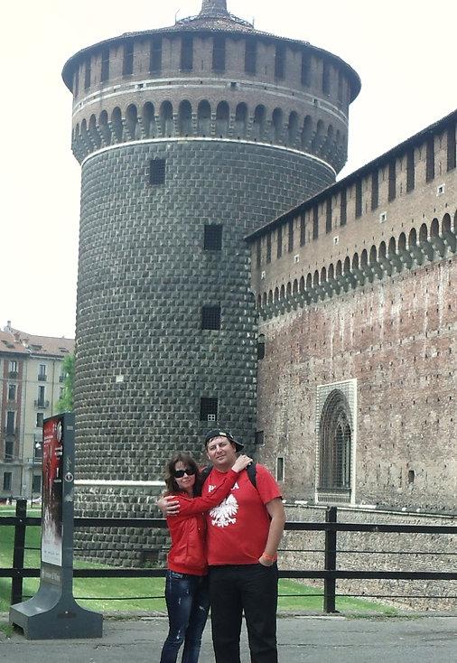Дворец Сфорца в Милане