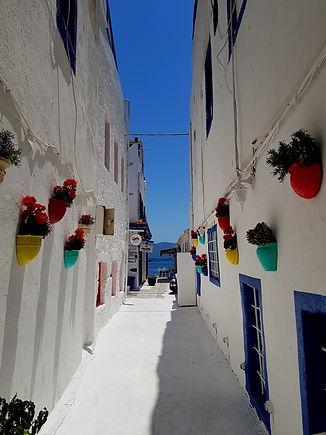 Улица ведущая к морю в Бодруме