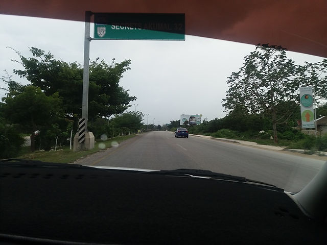 Дорога на Тулум