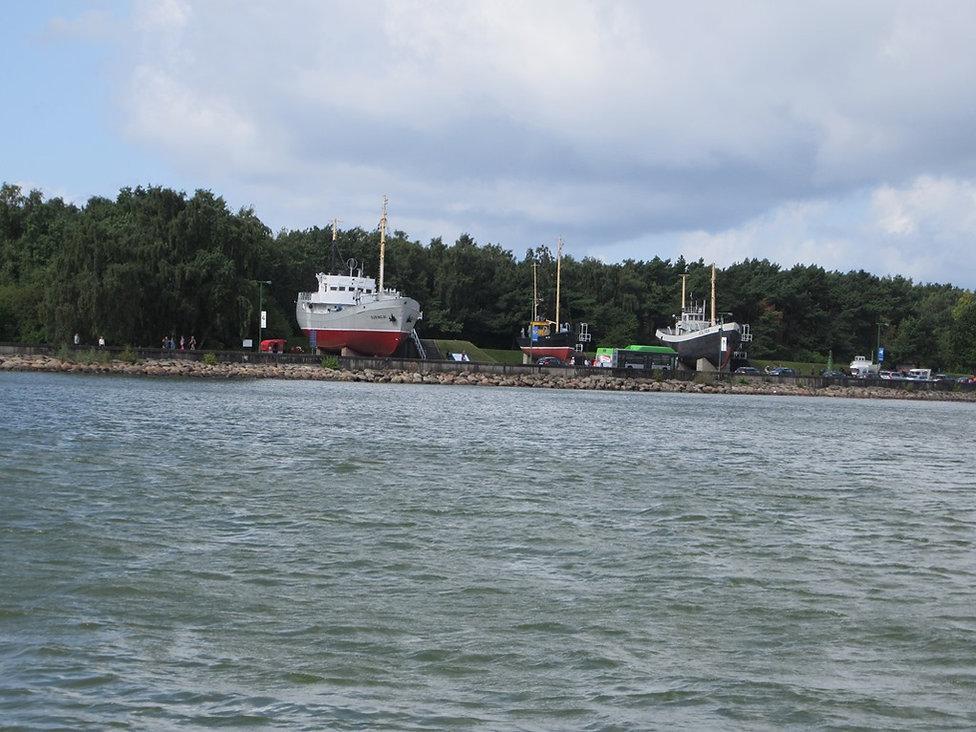 Музей кораблей на Юодкранте