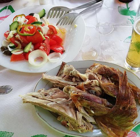 Албания, баранина