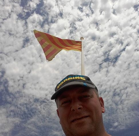 Под флагом Каталонии