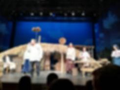 """Театр на Подоле, сцена из спектакля """"Сто тысяч"""""""