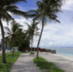Полицейский пост перед входом на пляж