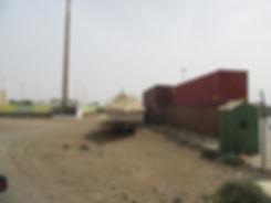 Склад контейнеров в Палмейре. Кабо Верде