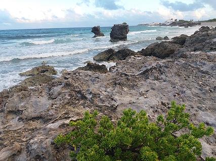 Скалистые берега острова Исла Мухерес