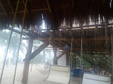 Тропический ливень на Исла Мухерес