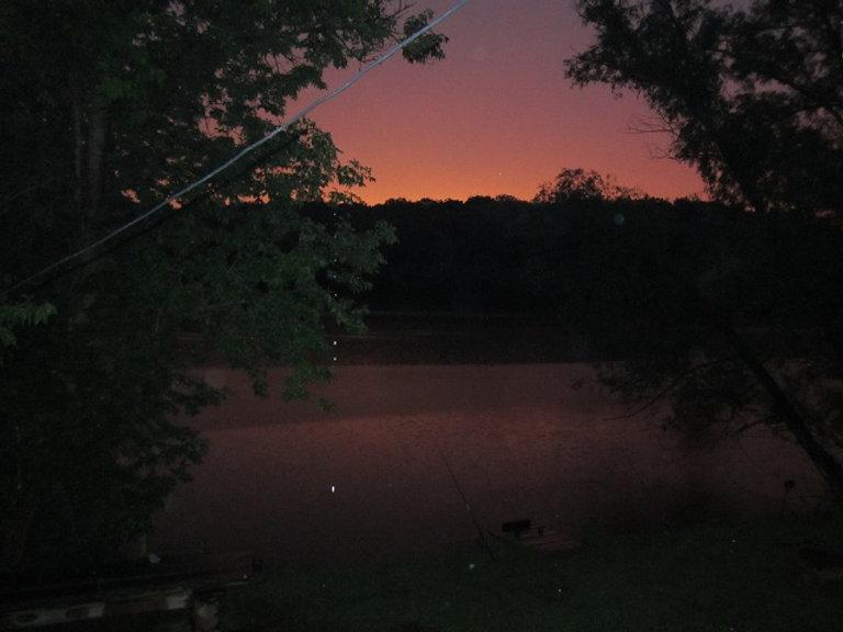 Первый летний закат