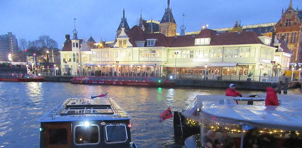 Причал в Амстердаме