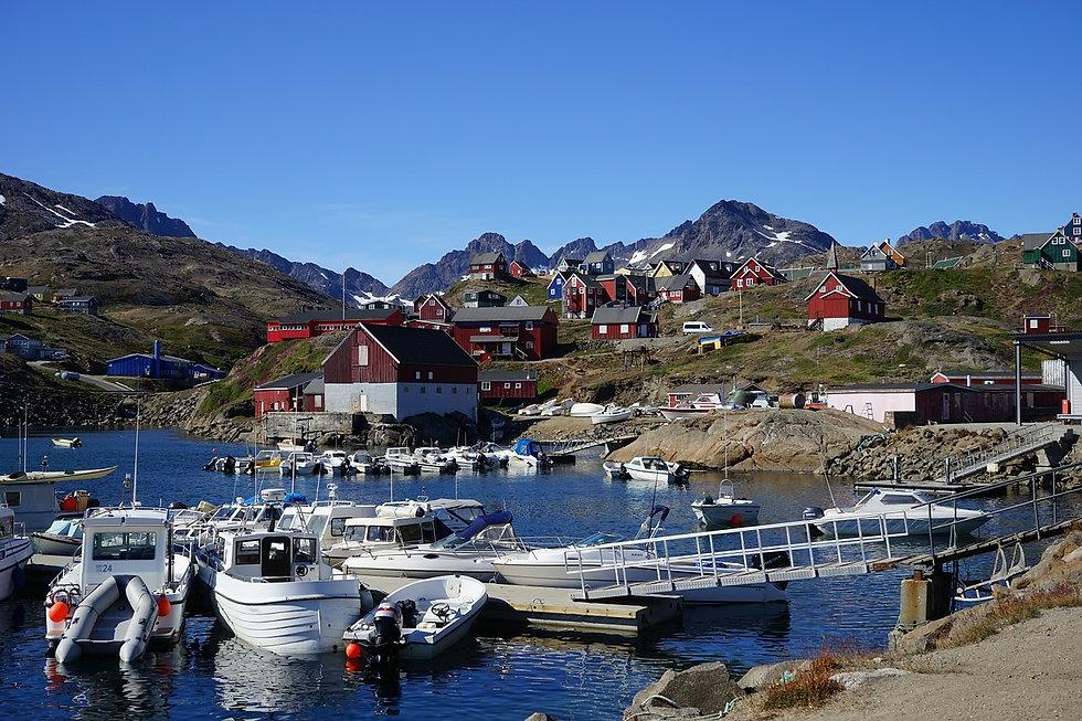 Пейзаж Гренландии