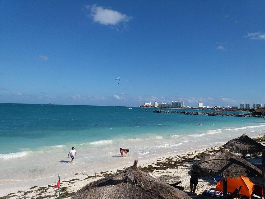 Бесконечные пляжи Канкуна