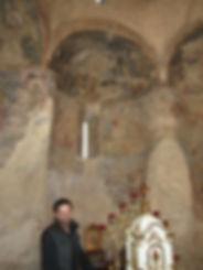 Фрески школы Джотто в Горянской ротонде