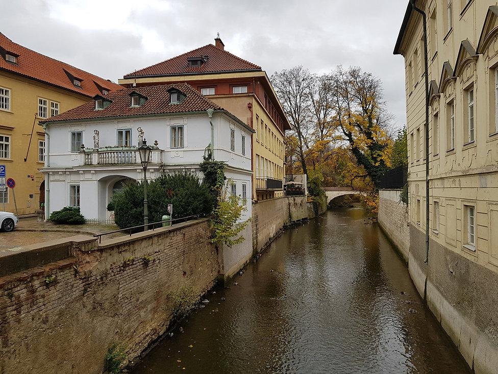 Река Чертовка, Прага