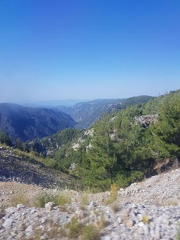 Горные ущелья Турции