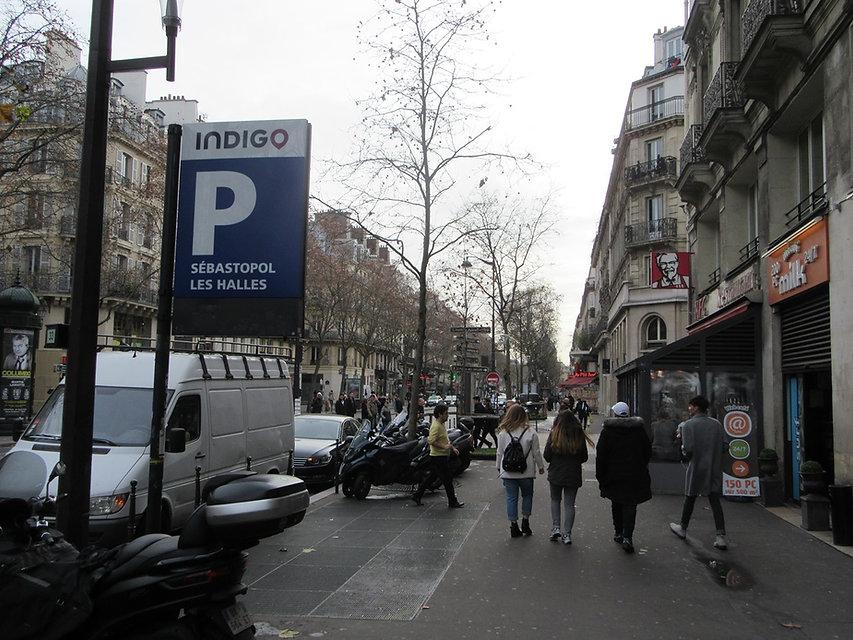Севастопольский бульвар, Париж