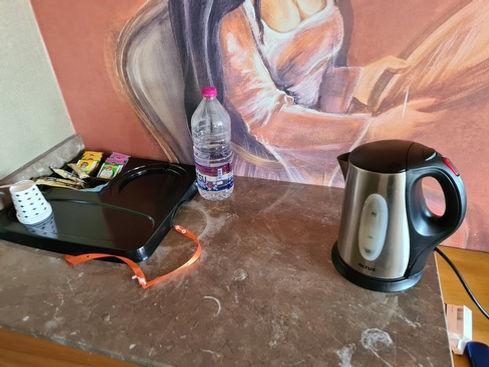Чайные принадлежности в номере
