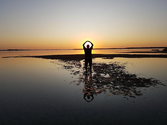 Закат на озере Свитязь