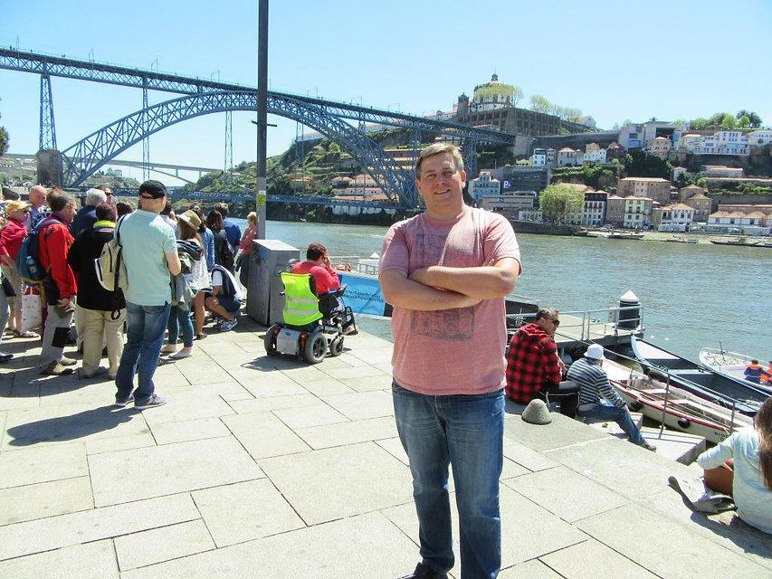 Мост Эйфеля в Порту