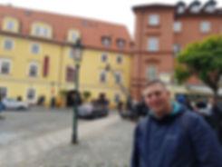 На съемках фильма в Праге