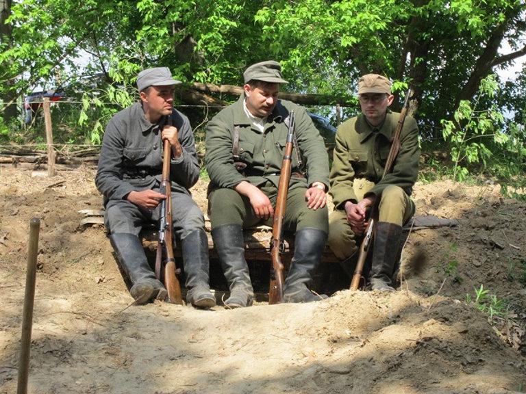 Охрана украинского лагеря
