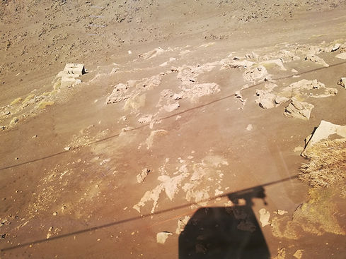Марсианские пейзажи вулкана Этна