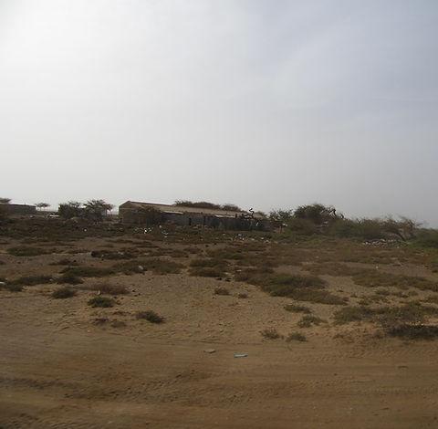Развалины зданий на острове Сал