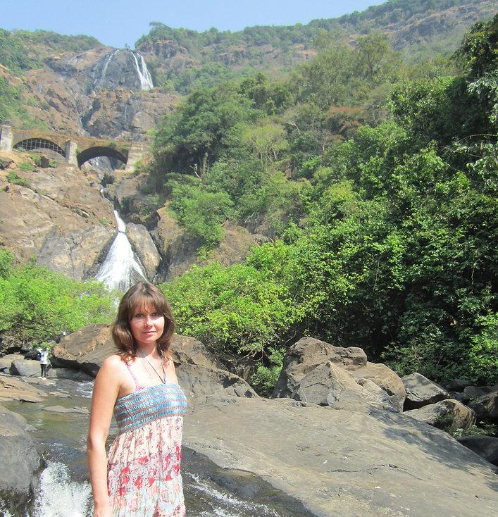 Фото возле водопада Дудсагар
