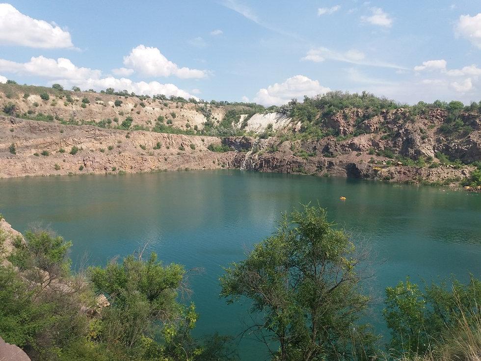 Радоновое озеро, пейзаж