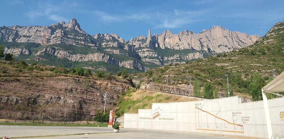 Горы возле монтастыря
