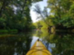 Плывём по естественному каналу