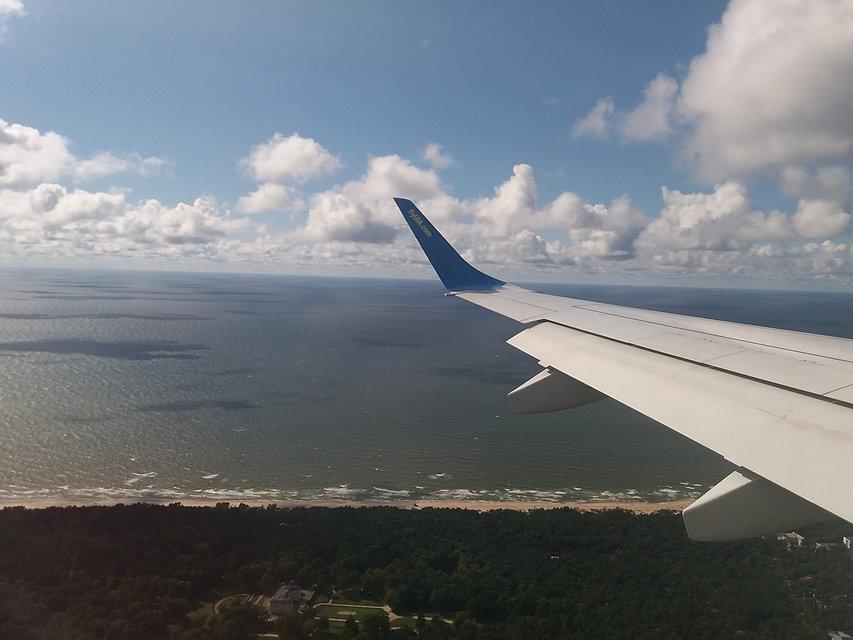 Летим над Палангой
