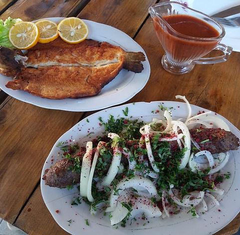 Обед в Чакви
