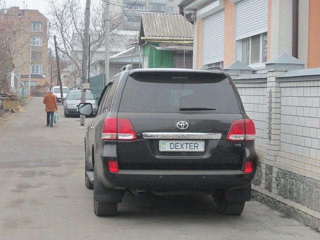 Неужели это машина самого Декстера?