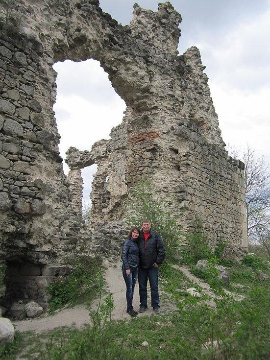 Фото возле башни Тамплиеров