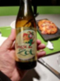 Знаменитое пиво с зеленым клоуном в Брюгге