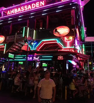 Возле клуба Ambassaden в Айя-Напе