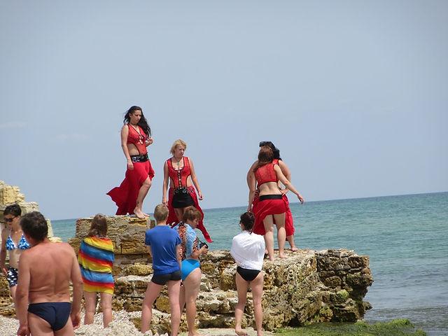 Съемки клипа на острове