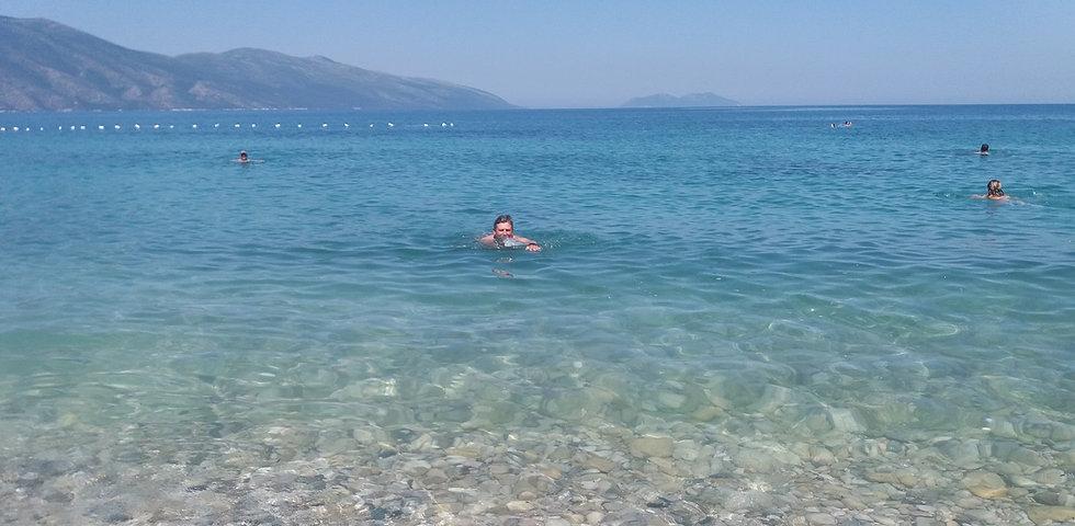 Албания, купание в море