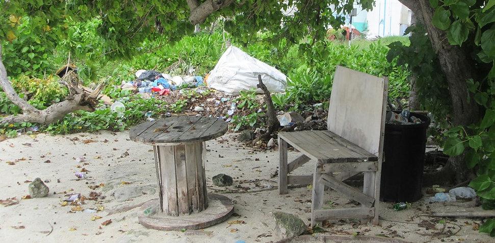 Кресло с видом на океан