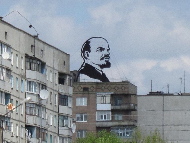 Ленин из железа