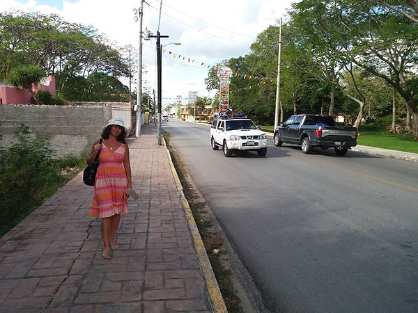 Прогулка по городу Писте