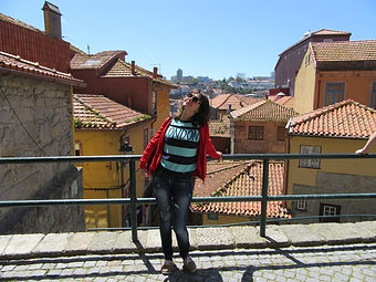 Крыши города Порту