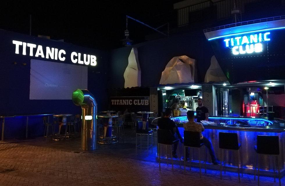 Ночной клуб Titanic в Айя-Напе