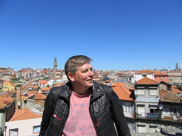 Вид на крыши Порту