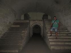 В одной из комнат форта