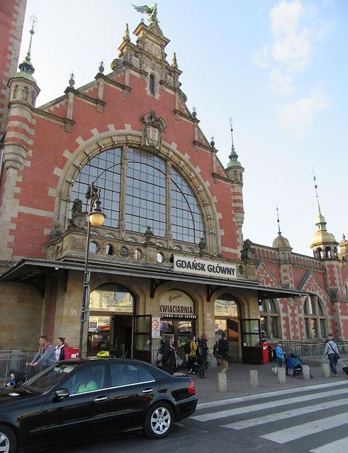 Гданьск, вход в вокзал