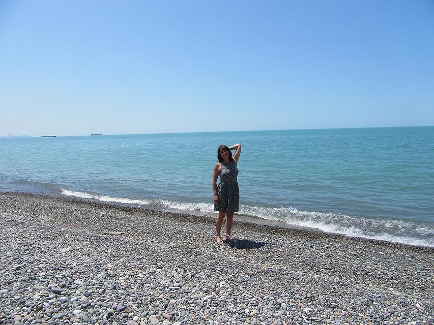 Пляж в Чакви
