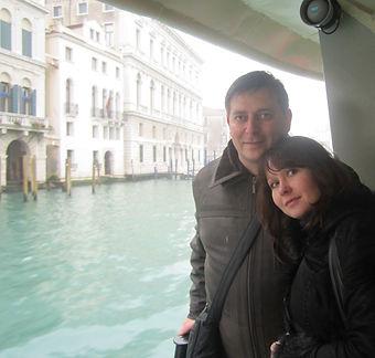 Плывем по каналу на Вапоретто