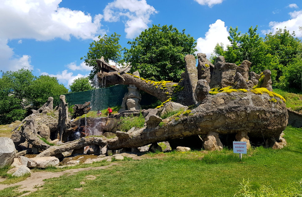 Драконы в парке Новая Софиевка